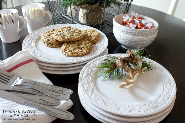 Not so rustic cabin tour and pfaltzgraff giveaway / Pfaltzgraff Country Cupboard dinnerware - So Much Better With Age