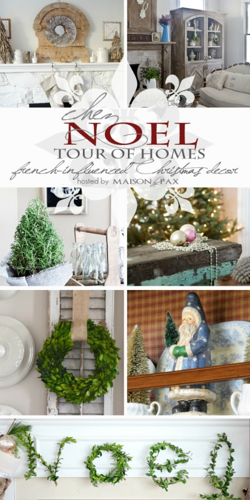 French-influenced Christmas decor | somuchbetterwithage.com