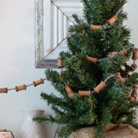 Spool and Wool Garland