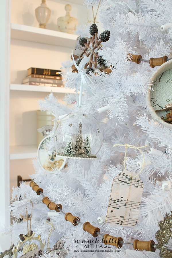 Dreaming of a white Christmas Balsam Hill Christmas tree - So Much Better With Age