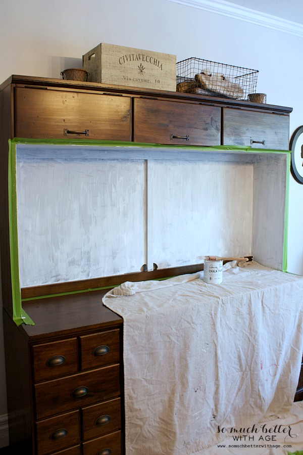 cabinet before painting | somuchbetterwithage.com