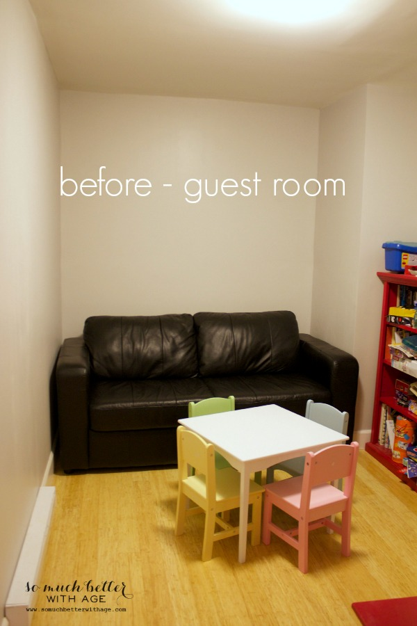 Before guest room | somuchbetterwithage.com