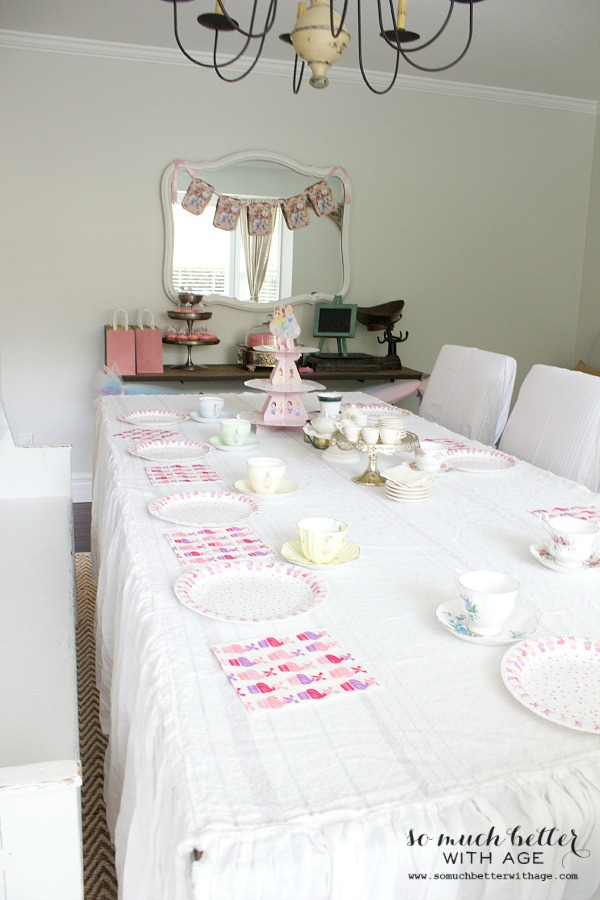 Let us eat cake princess party / table setting - So Much Better With Age