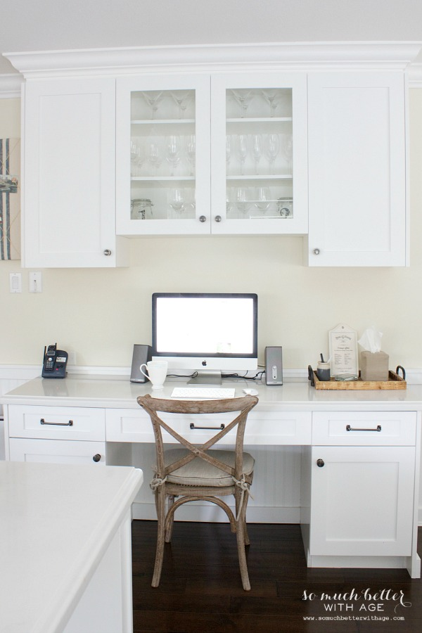Industrial Vintage French Kitchen / kitchen office - So Much Better With Age