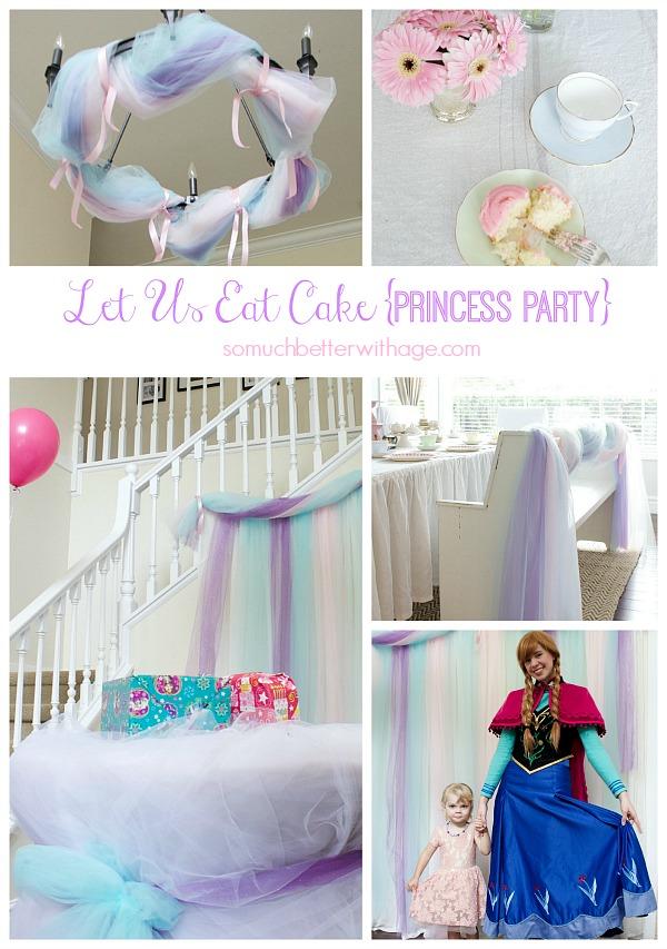 Let Us Eat Cake {Princess} Party