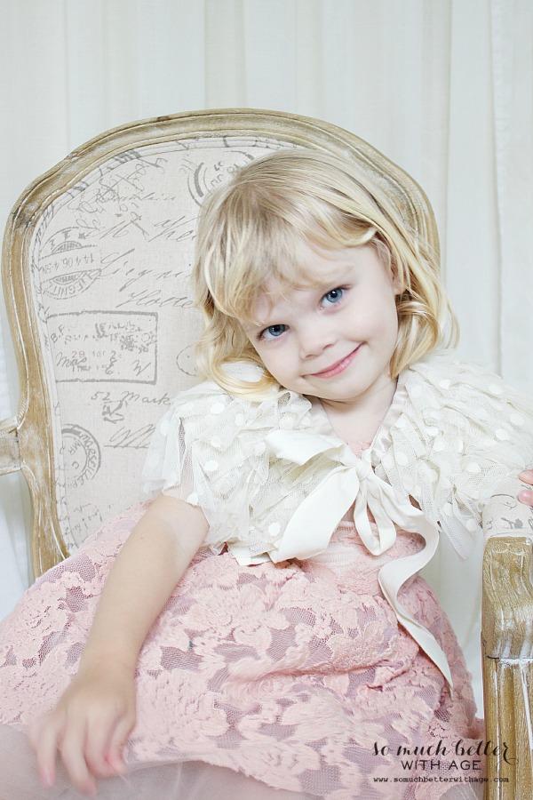 Baby girl's birthday dress