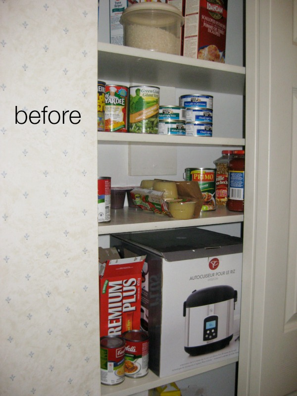 Butler pantry and kitchen office updates / Closet before butler pantry - So Much Better With Age