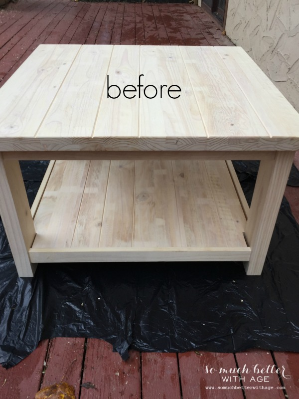 Ikea Rekarne Table Makeover So Much Better With Age