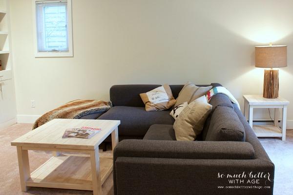 before / Ikea Rekarne table makeover | somuchbetterwithage.com