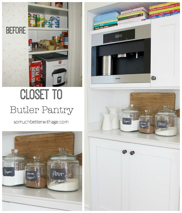 Butler pantry and kitchen office updates - So Much Better With Age