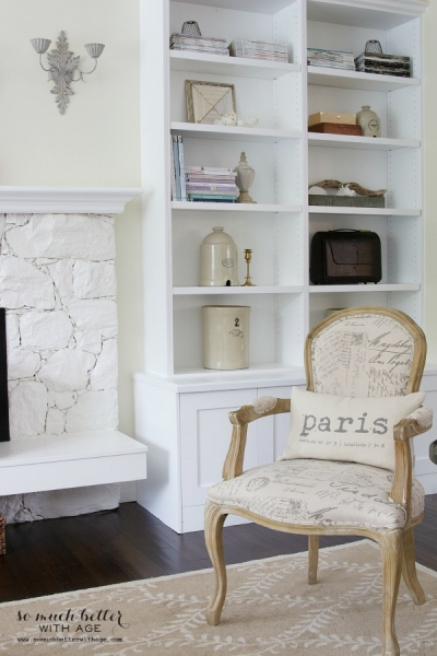 Restyled Bookshelves and How to Cope With Chaos