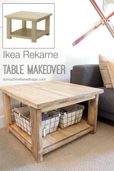 Ikea Rekarne Table Makeover