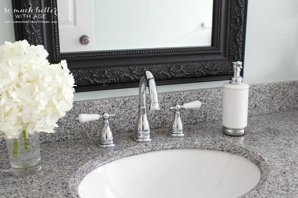 Pfister bathroom faucet | somuchbetterwithage.com