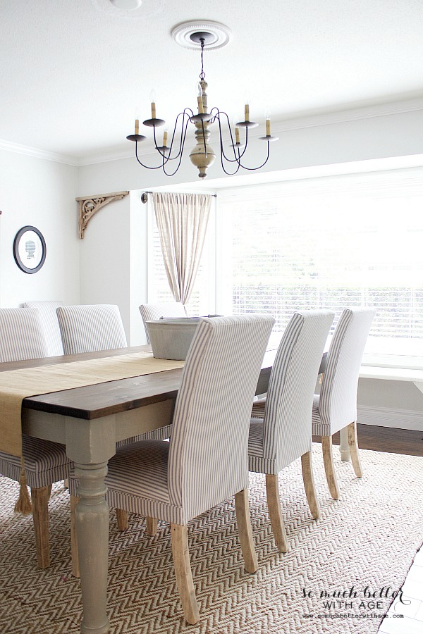 Get my dining room look - So Much Better With Age