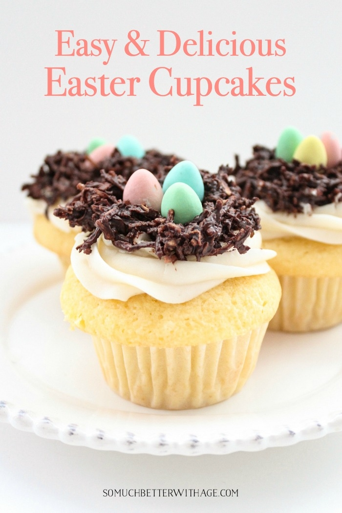 Easy & Delicious Easter Cupcakes.