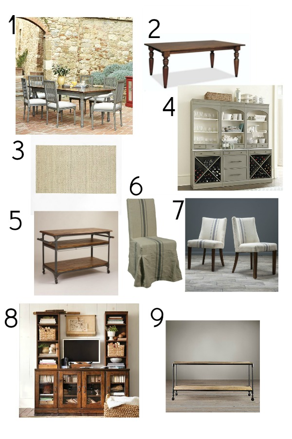Get my dining room look / vision board - So Much Better With Age