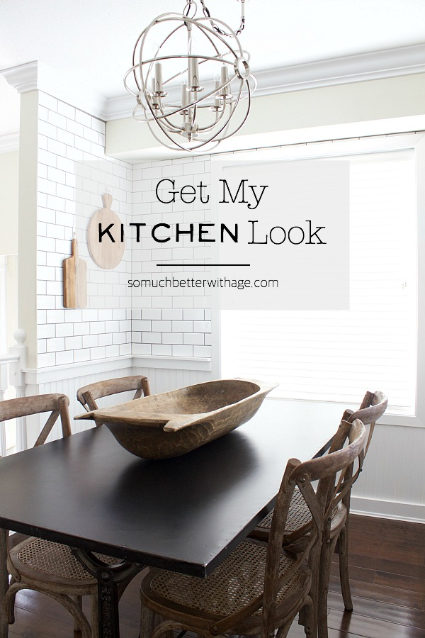 Get My Kitchen Look | somuchbetterwithage.com