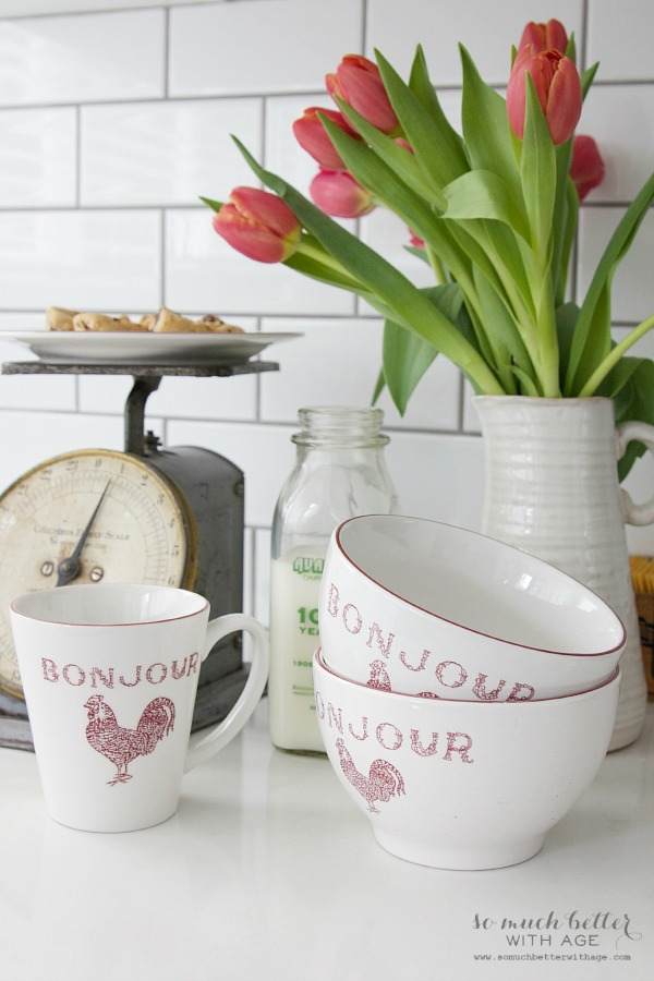 New French additions/ French inspired teacups - So Much Better With Age