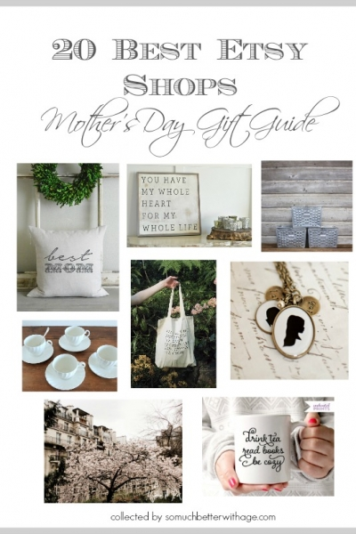 20 Best Etsy Shops – Mother's Day Gift Guide