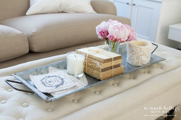 Styling Trays & A Giveaway / Decor steals galvanized tray set - So Much Better With Age