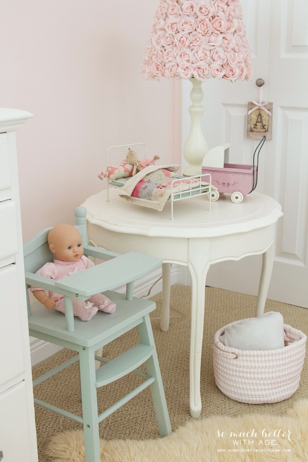 Little Doll Highchair & A Funny Story / highchair in little girls room - So Much Better With Age