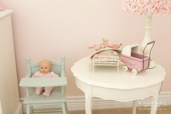 Little Doll Highchair & A Funny Story / highchair with doll and table - So Much Better With Age