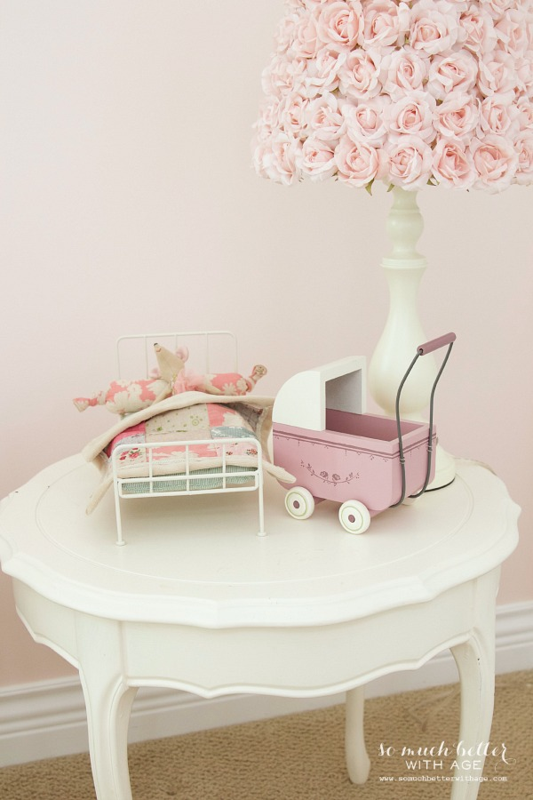 Little Doll Highchair & A Funny Story / table with children's toys - So Much Better With Age