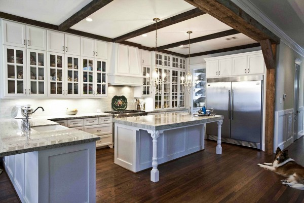 Cedar Hill Farmhouse - wood beam inspiration