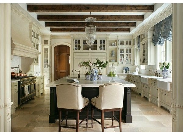 The Enchanted Home - wood beam inspiration