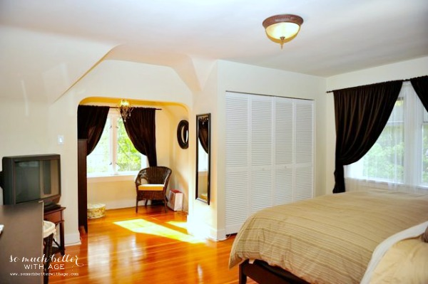 Our old old house, 90-year-old Tudor house tour / updated master bedroom - So Much Better With Age