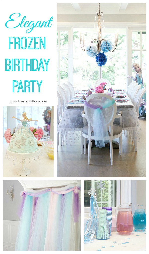 Elegant Frozen Birthday Party / So Much Better With Age
