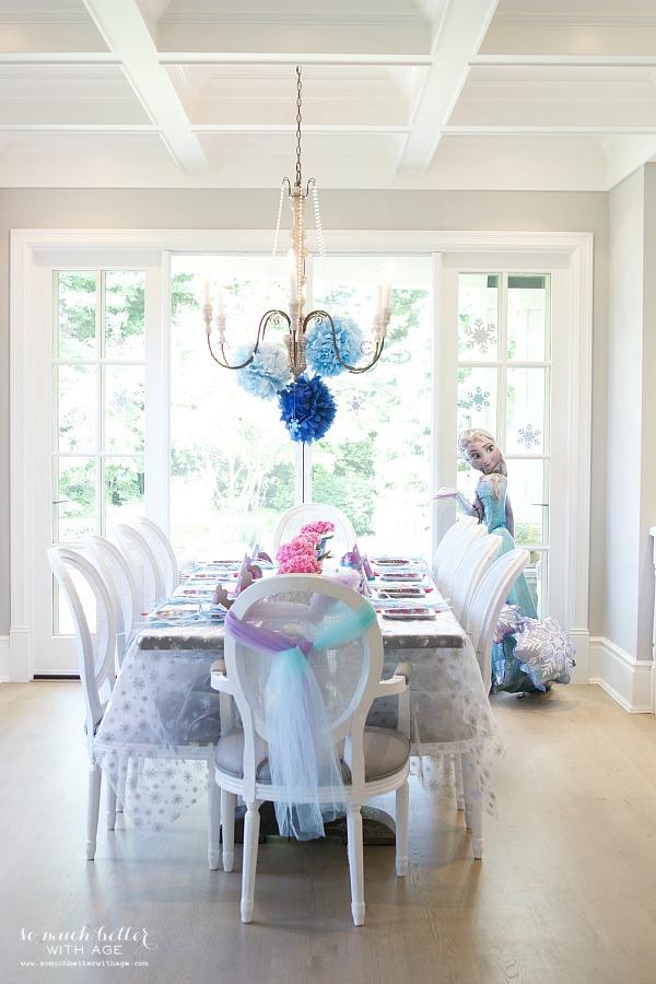 Elegant Frozen Birthday Party