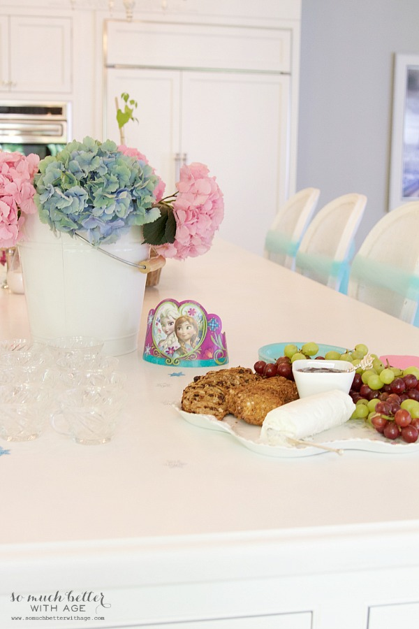 Elegant Frozen Birthday Party / cheese platter - So Much Better With Age