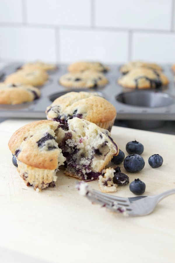 The Best Classic Blueberry Muffins