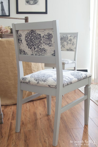 Toile Chair Makeover