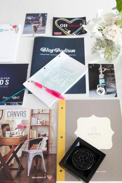 Blogpodium in Vancouver