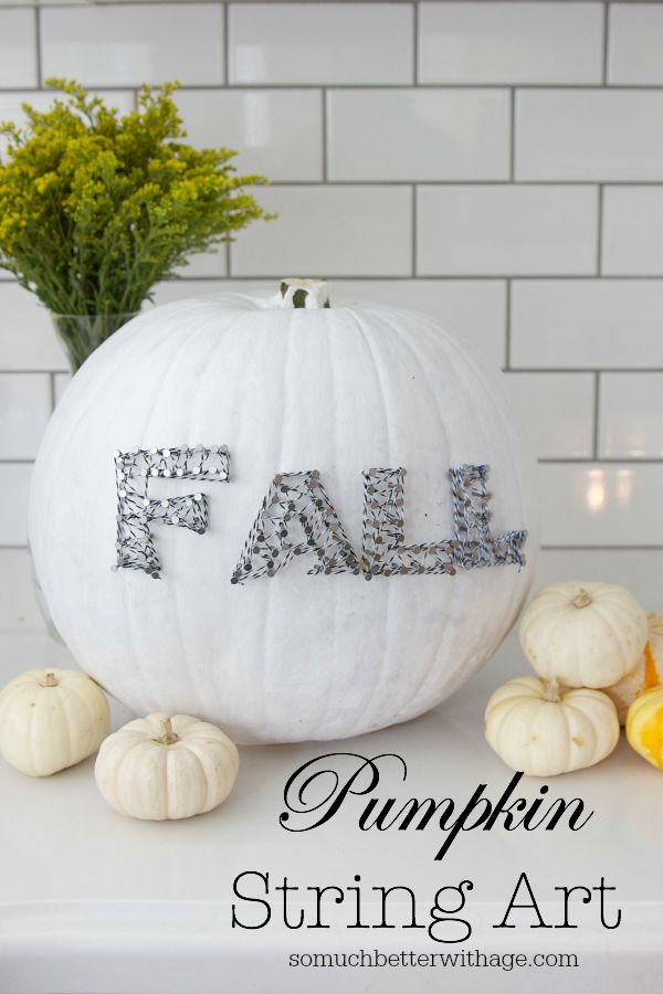 pumpkin-string-art-fall