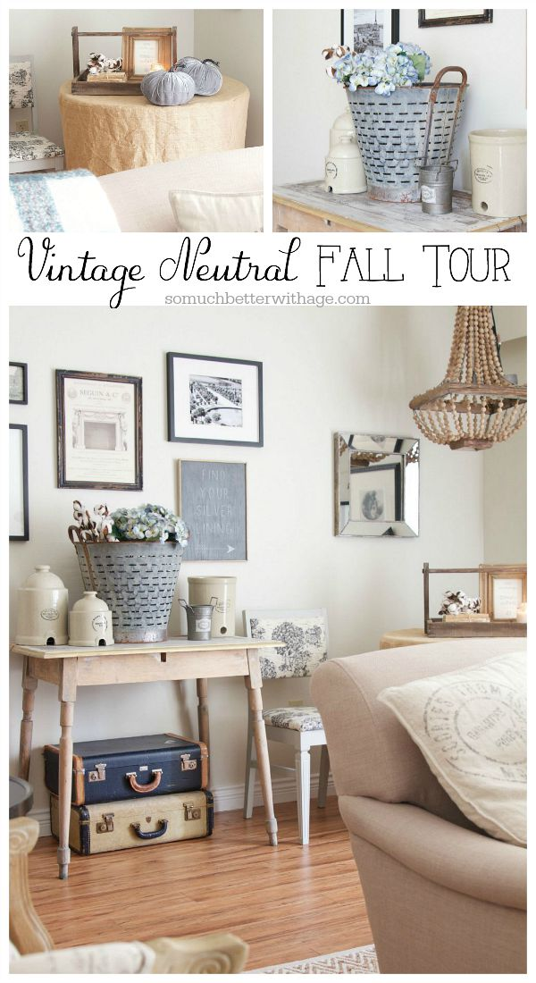 Vintage Neutral Fall Tour - So Much Better With Age