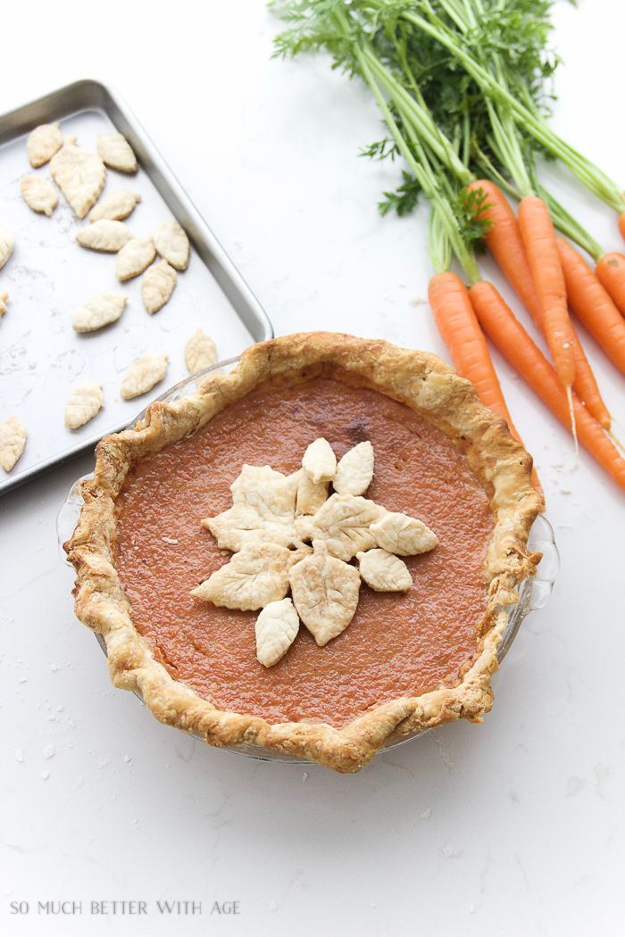 Carrot Pie For Thanksgiving / Carrot pie recipe that tastes like pumpkin pie - So Much Better With Age