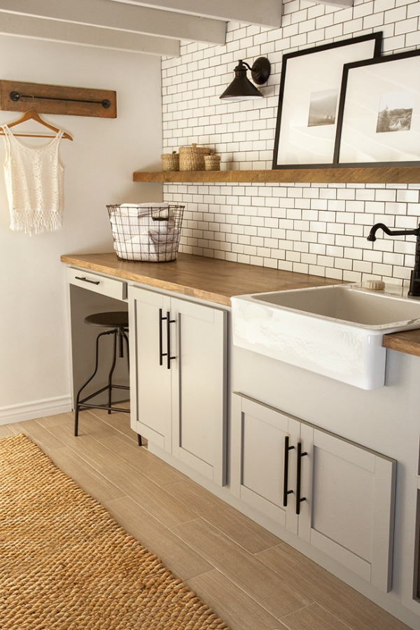 Laundry room luxury - Jenna Sue Design