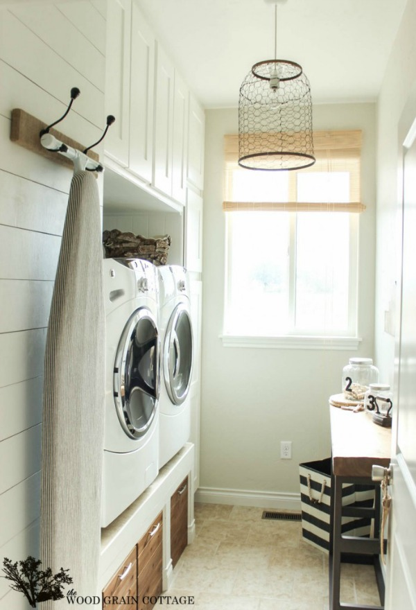 Laundry room luxury - The Wood Grain Cottage