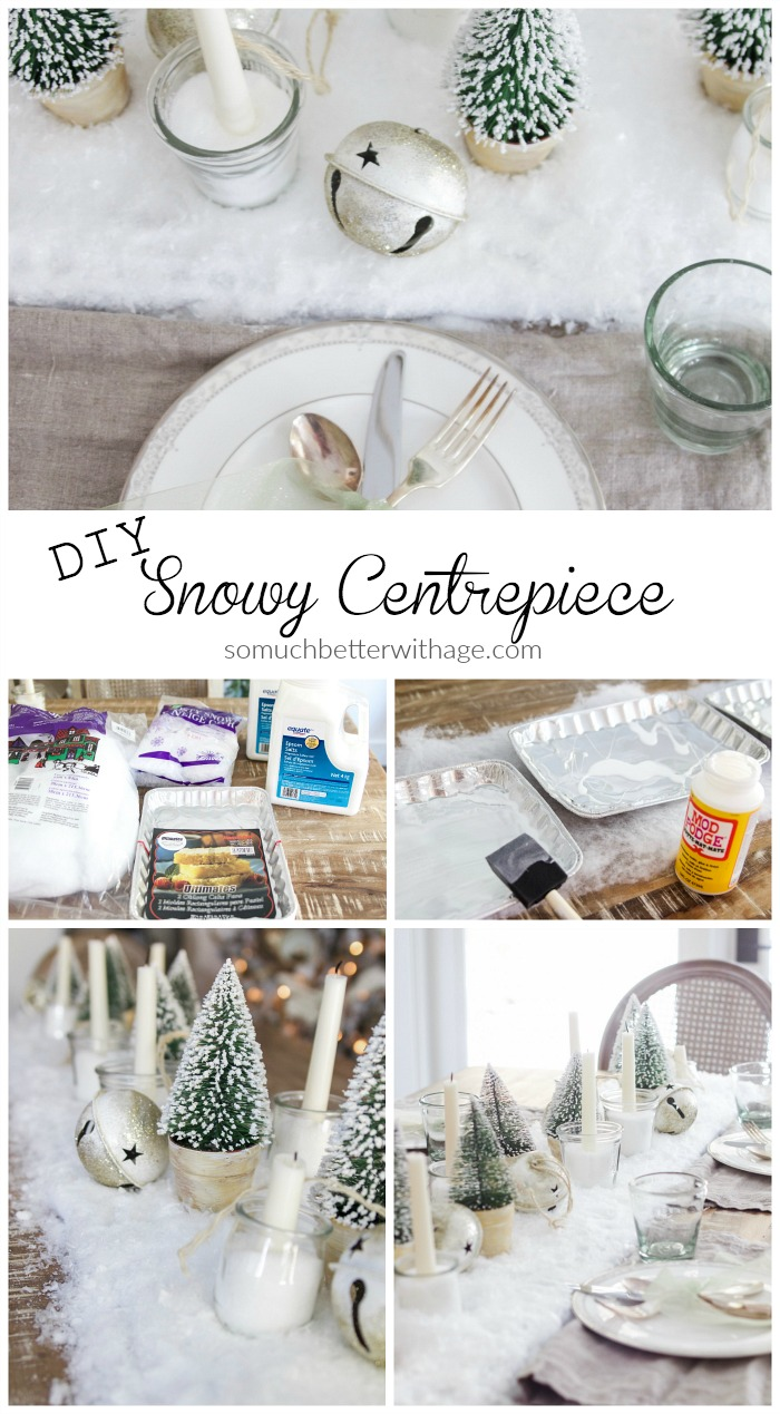 diy-snowy-centrepiece - So Much Better With Age
