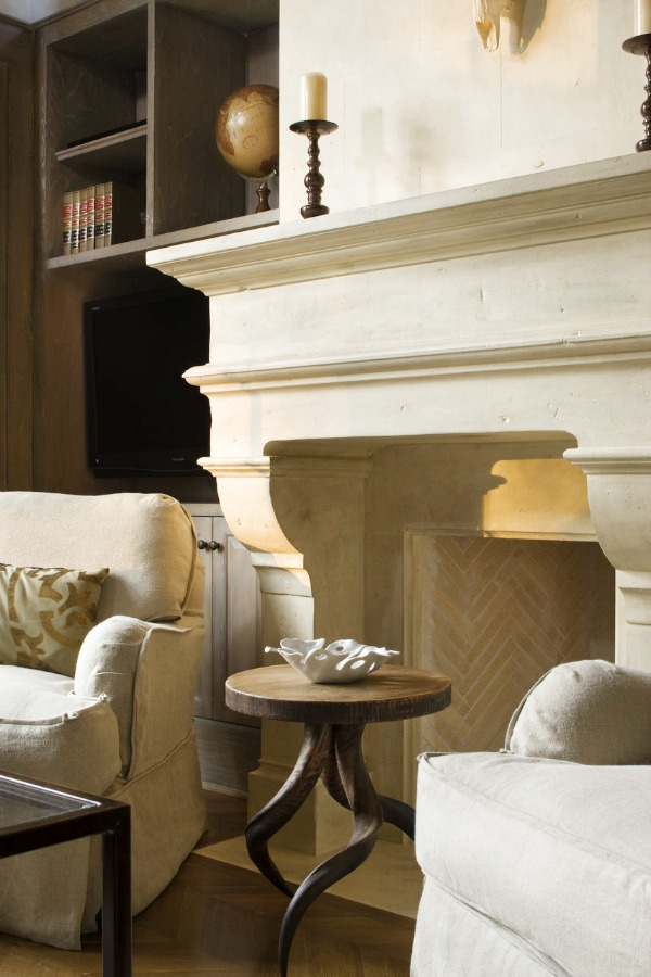 Fabulous Limestone Fireplaces / RSA - So Much Better With Age