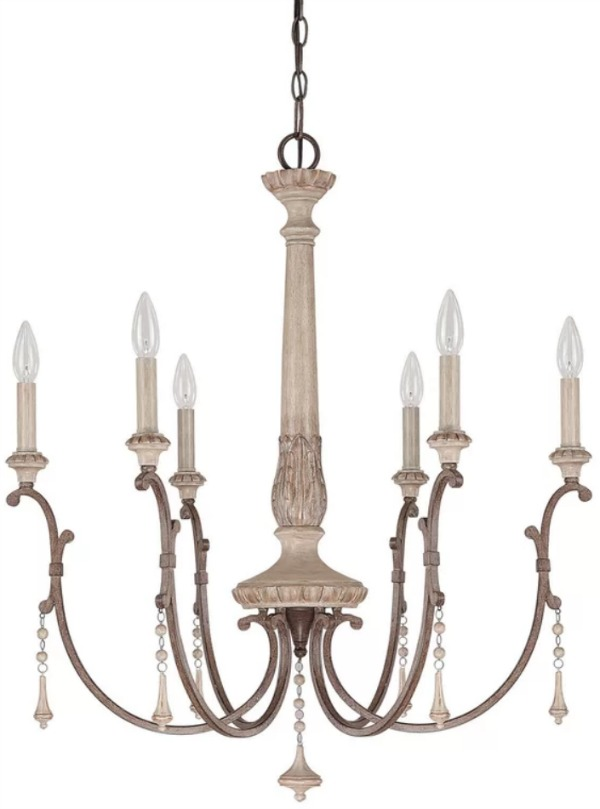 The Most Gorgeous French Chandeliers/Drumboe - So Much Better With Age
