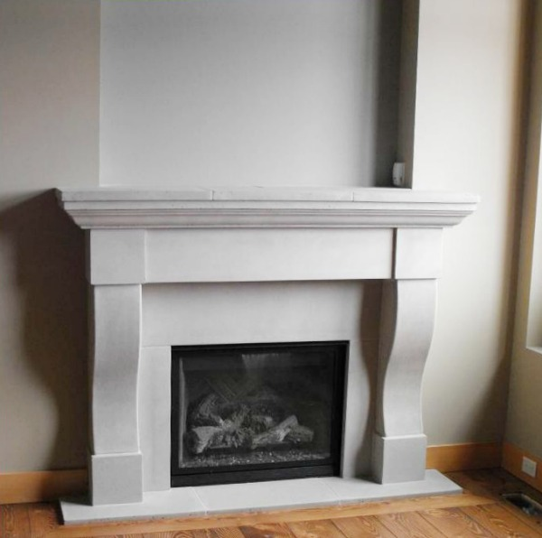 Fabulous Limestone Fireplaces So Much Better With Age