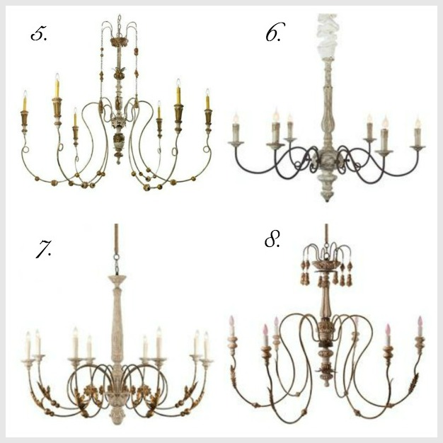 The Most Gorgeous French Chandeliers | somuchbetterwithage.com