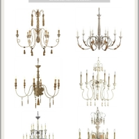 The Most Gorgeous French Chandeliers