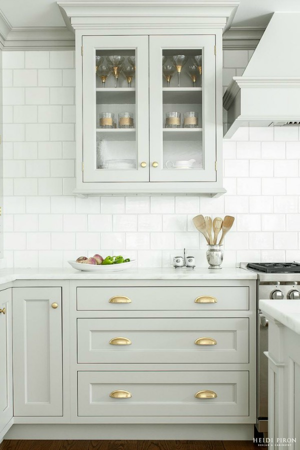 white color kitchen. Kitchen Island  Heidi Piron Islands White or Color So Much Better With Age