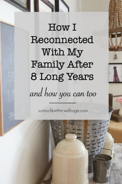 How I Reconnected With My Family After 8 Long Years
