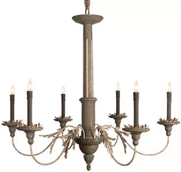 Landini chandelier.